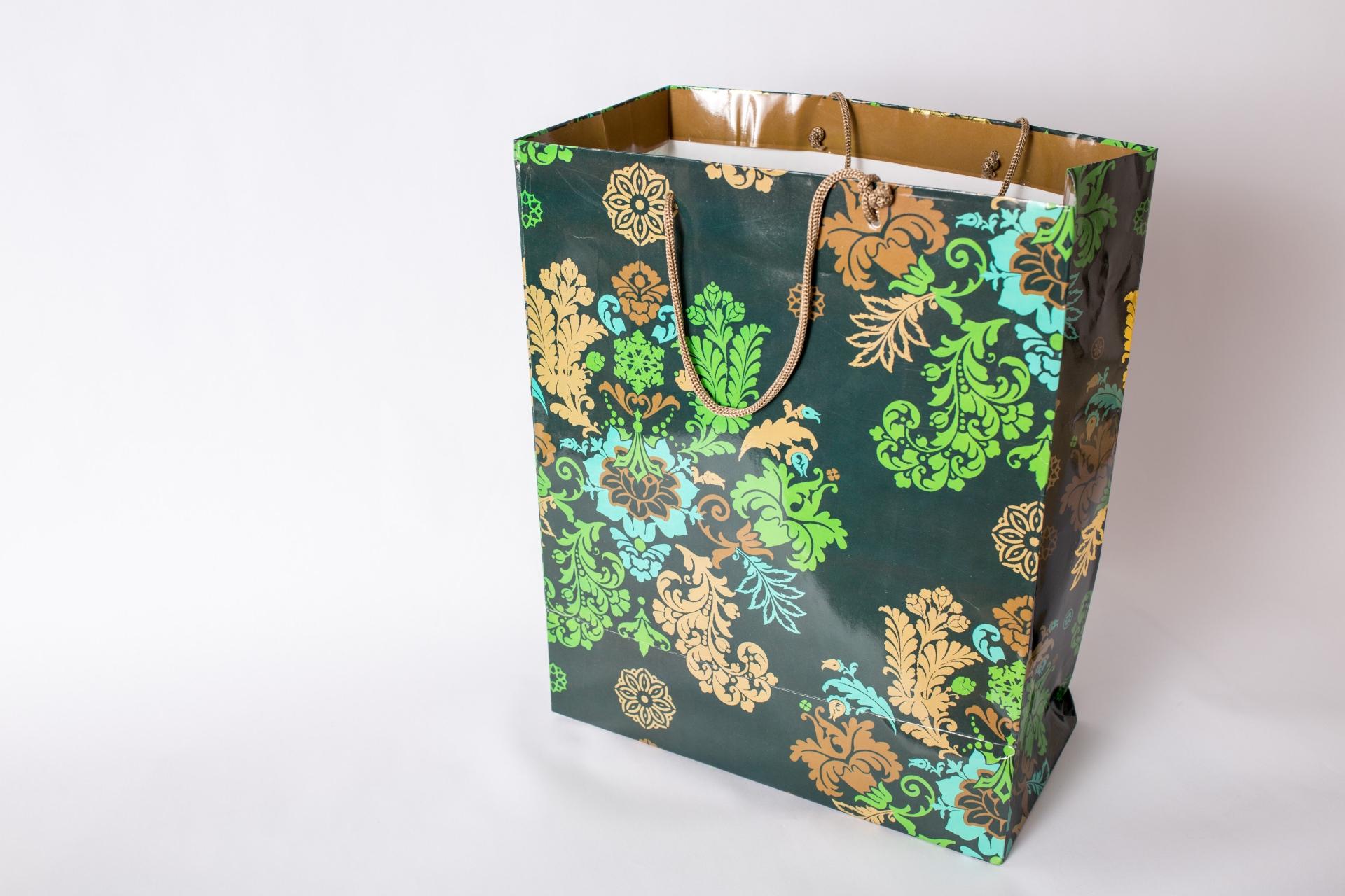 カジュアルショッピングバッグ紙袋